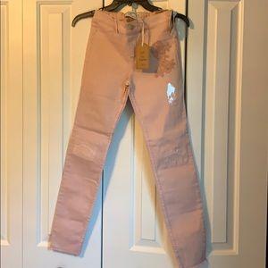 Abercrombie kids pull on jean legging